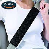 Seat Belt Cover Shoulder Pad Cushion for Toyota BNHHB 2 Pack Car Seat Belt Pad Cover Breathable Car Seat Belt Shoulder Strap for Adults and Children