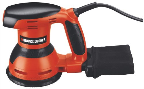 BLACK+DECKER KA198 230 V 125 mm Random Orbit Sander, 260 W