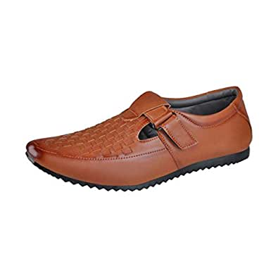 Bachini Tan Men's Sandals 10 UK
