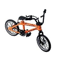 Mini-finger-bmx Set Bike Fans Toy Alloy Finger BMX Functional Kids Bicycle modle Finger Bike Excellent Quality Bmx Toys Gift(orange)