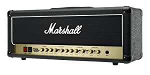 Marshall DSL Series DSL100H 100-Watt All-Tube Guitar Amplifier Head - Black