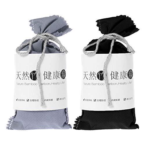 Junlinto Car Home Geruch Absorber Bambuskohle Aktivkohle Lufterfrischer Deodorant