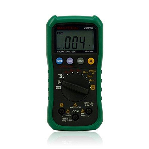 Mastech MS8239D Digital Automotiv Multimeter und Engine Analyse Spannung Strom Widerstand Messgerät Diodeprüfung -