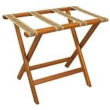 Wooden Mallet MALLRMOTAP Deluxe Straight Leg Luggage Rack - Best Reviews Guide
