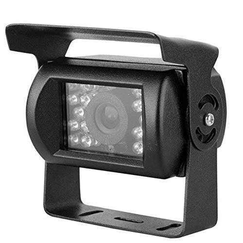 IR-Rückfahrkamera für Auto, Nachtsicht, 4-polig, CCD, 12 V-24 V, wasserdicht, für Vans, Bus, LKW, Anhänger, schwarz - 4 Ccd-ir-kameras