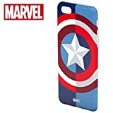 Tribe Marvel - Apple iPhone 7/8 Bumper Case I TPU Silicone Protective Case I Thin Cover for iPhone 7/8 - Captain America