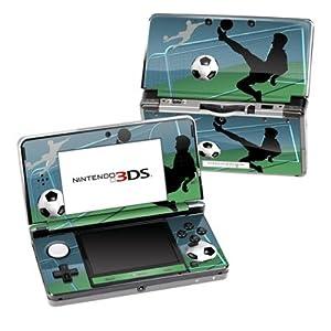 Nintendo 3DS Skin Schutzfolie 4-teilig für alle Seiten Design modding Sticker Aufkleber Fussball Soccer Life