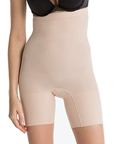 Luxurious Spanx Slimming Shapewear Lightweight and Seamless Higher Power Short, Soft Nude, 3X