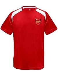 9c6bc9741 Arsenal FC Official Football Gift Boys Poly Training Kit T-Shirt