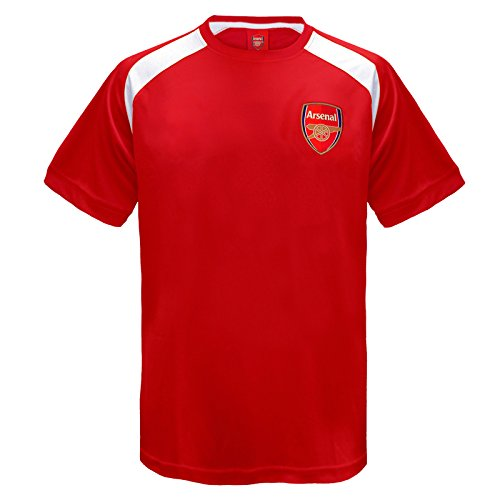 c61e877b0 Arsenal FC Official Football Gift Boys Poly Training Kit T-Shirt