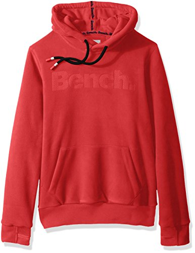 Bench Herren Fleece Hoody Core - Rot - Groß -