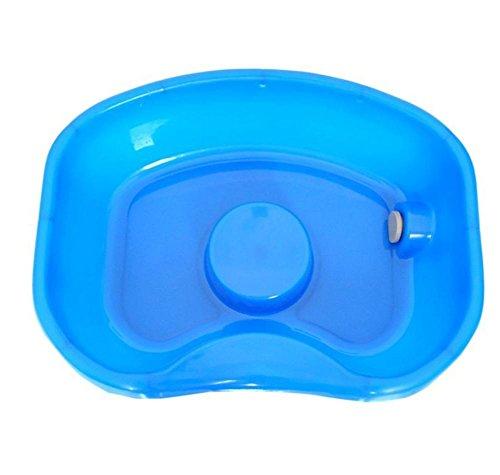 MEYLEE Medizinische Patientenversorgung Shampoo Becken Badehilfe - Waschen Haar im Bett