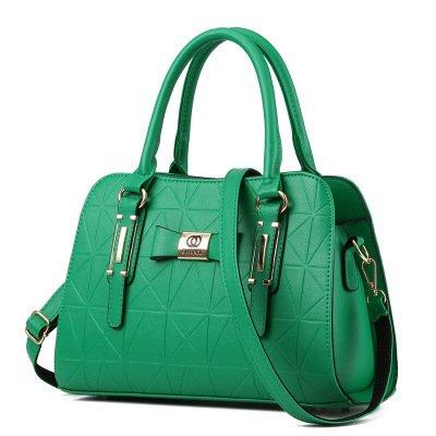 Xwan-single Bag New Simple All-match Bag. Verde