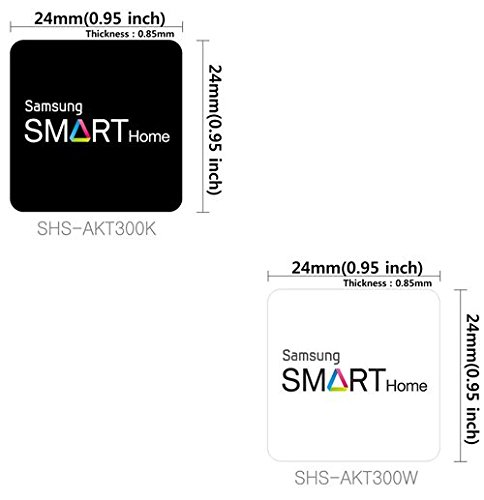 Price comparison product image Samsung EZON Door lock Smart key tag 1pcs SHS-AKT300K-Sticker-RFID Color Random