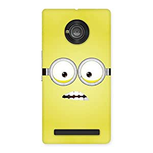 Stylish Yellows Fun Back Case Cover for Yu Yuphoria