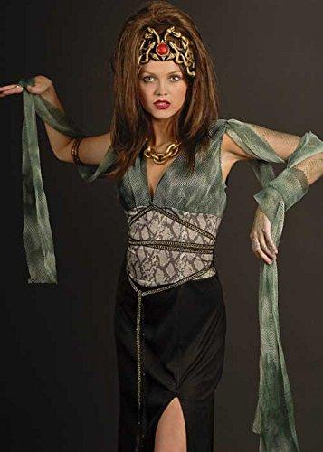 Erwachsene Damen Medusa Halloween-Kostüm
