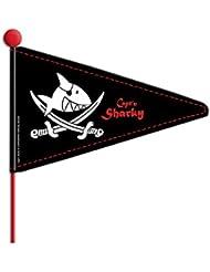 Vedes 865153 Fahrradwimpel 'Captïn Sharky' L 175 cm
