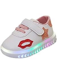 online store cef74 41e0c Zapatos Niña Invierno, ❤ Zolimx Zapatos LED Niños Niñas Zapatillas para  Bebés Recien Nacido Zapatos de Bebé Zapatillas de Deporte…