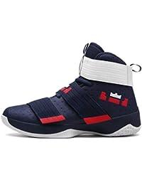 Qianliuk Scarpe da Basket Uomo Super Star Ultra Boost Basket Scarpe da  Ginnastica Unisex 1bf1d213b65