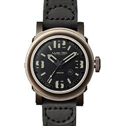 LUM-TEC 600M-1 Abyss Men's Titanium Carbide PVD Watch