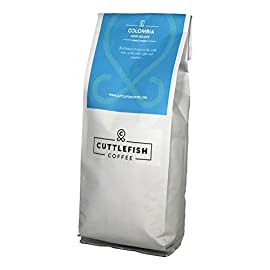 Colombia Gran Galope Single Origin Freshly Roasted Ground Coffee Perfect for Cafetiere, Stove Top Moka Pot, Chemex and Hario – 1Kg Ground Coffee