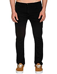 CARHARTT WIP - Jean - Homme - Jeans Skinny Fit Stretch Trevor Blaine Noir pour homme