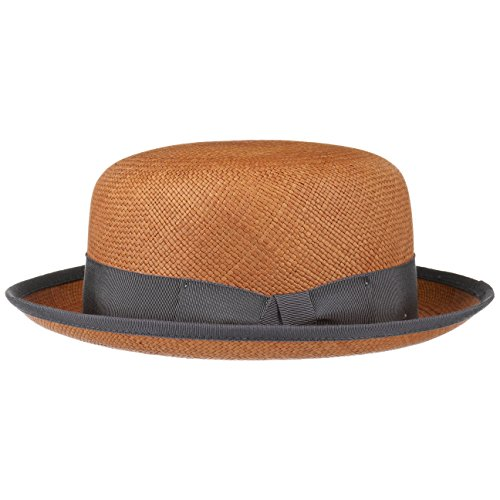Bailey of Hollywood Chaplin Panamahut Strohhut Herrenhut Panamastroh Hut (L (58-59 cm) - braun)