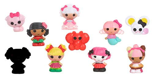 Lalaloopsy Tinies 10 Puppen Kollektion - Packung 4 [UK Import]
