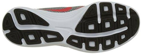Nike Herren Revolution 3 Laufschuhe Mehrfarbig (Gris / Rojo / Wolf Grey / Track Red / Black)