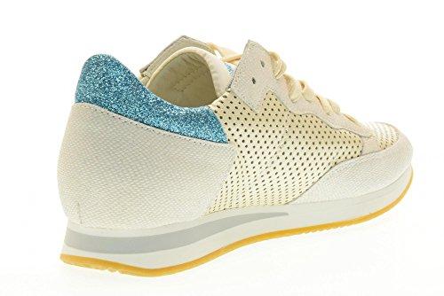 PHILIPPE MODEL scarpe donna sneakers basse TRLD VP12 TROPEZ L D VIP Panna