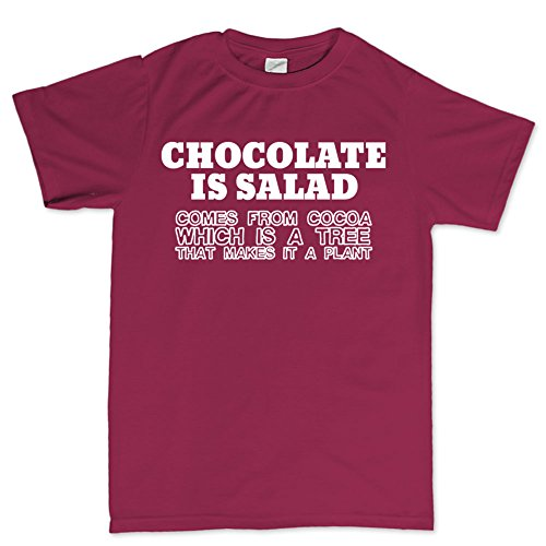Chocolate Salad Cake Funny T shirt