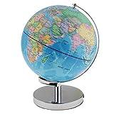 Fenteer LED Beleuchtete Spinning Welt Globus Leuchtglobus Weltkugel Lernglobus Ornament