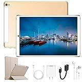 Tablet 10 Pollici Con wifi Offerte, 4G Android 8.1 3GB RAM +32 GB ROM Espansione e Dual SIM Full HD PC, Portatili e tablet WiFi ,GPS ,Bluetooth Tablet in Offerta (S62)
