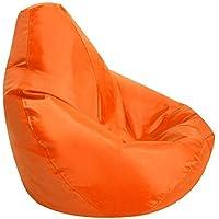 Pleasing Amazon Co Uk Orange Bean Bags Living Room Furniture Ibusinesslaw Wood Chair Design Ideas Ibusinesslaworg