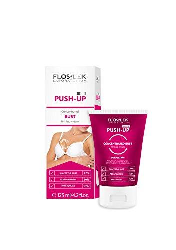 Floslek Konzentrierte Slim Line Push-Up Creme für die Straffung der Büste, 1er Pack (1 x 125 g)