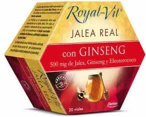 Jalea Real Royal-Vit Ginseng 20 ampollas de Dietisa