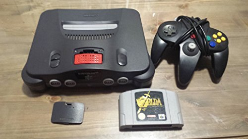 Nintendo 64 konsole + Zelda Spiel + 1 Kontroller + Expansion Pak Nintendo 64 Spiel-konsole