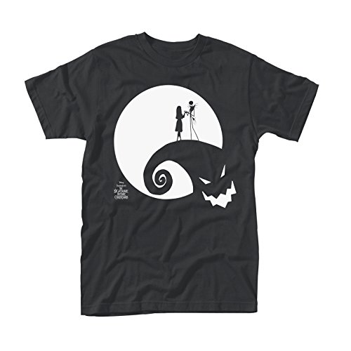 Nightmare before Christmas The Herren T-Shirt schwarz schwarz Small Gr. XX-Large, Moon Oogie Boogie - Black