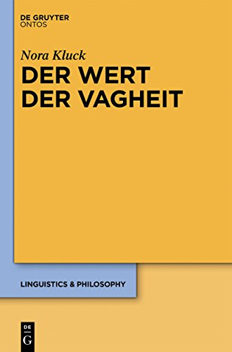 Der Wert der Vagheit (Linguistics & Philosophy 5) Case Logic Kindle