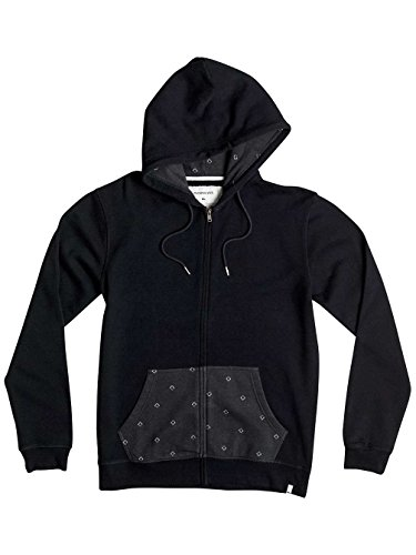 Herren Kapuzenjacke Quiksilver Decided Fate Kapuzenjacke Black