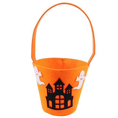 Süßigkeit Beutel / Eimer Reizende Dekoration Wiederverwendbare Einkaufstasche Handtasche Größe: 10 * 15cm (K) (Superman Halloween Eimer)