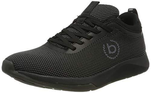 bugatti Herren 342628046900 Sneaker, Schwarz, 42 EU