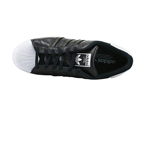 adidas Herren Superstar Sneakers, Blau, 38 EU Noir