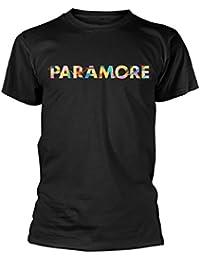 Paramore Herren T-Shirt Colour Swatch schwarz