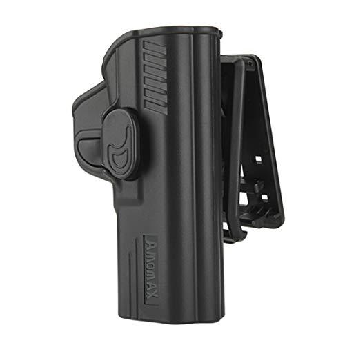 iVansa Amomax Tactical Drehbar Verstellbar Pistole Tokyo Marui / WE / VFC M P9-Serie Airsoft Pistole, Rechte Hand -