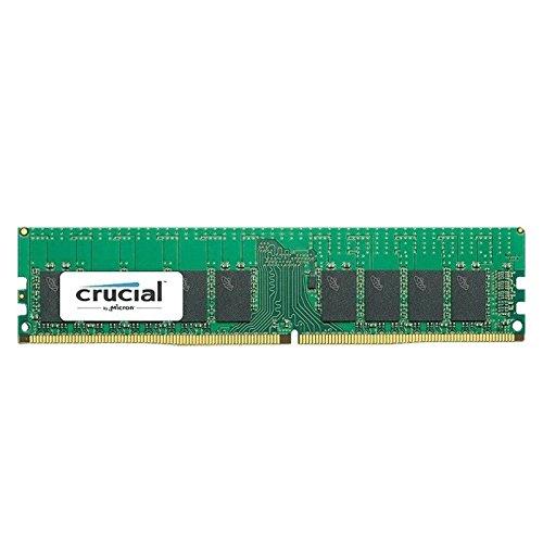 Crucial 16GB DDR4-2400 módulo de - Memoria (16 GB, 1 x 8 GB, DDR4, 2400 MHz, 288-pin DIMM)