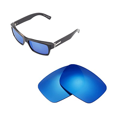 e3e549ff79 Walleva Replacement Lenses For VonZipper FULTON Sunglasses - Multiple  Options available (Ice Blue - Polarized