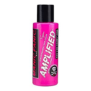 MANIC PANIC Amplified Semi-Permanent Hair Color - Cotton Candy Pink