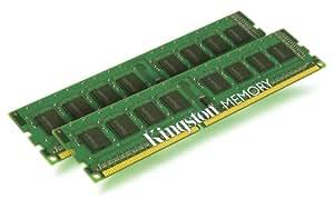 Kingston ValueRAM KVR1333D3N9K2/4G PC3-1333 Arbeitspeicher 4 GB (Non-ECC, 1333 MHz, CL9, 240-polig, 2 x 2 GB) DDR3-SDRAM Kit