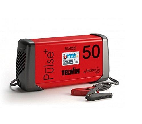 Telwin Pulse 50–Batterie-Ladegerät (600W, 230V), rot und schwarz
